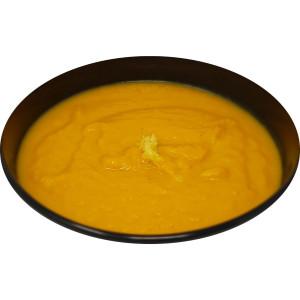 Potage de carottes, gingembre et miel
