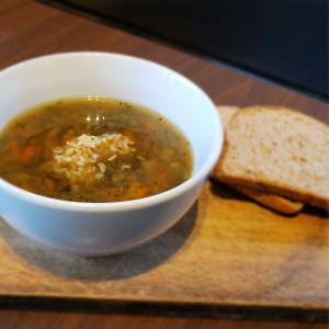 Soupe au boeuf, légumes et riz