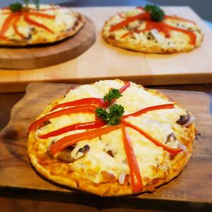 Pizza au tofu